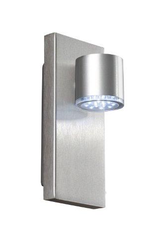 MASSIVE LED INDOOR 335114810 INTERIOR 3W ALUMINIO ILUMINACION DE PARED - LAMPARA (CEPILLADO  DORMITORIO  SALON  INTERIOR  ALUMINIO  VIDRIO  METAL  IP20)