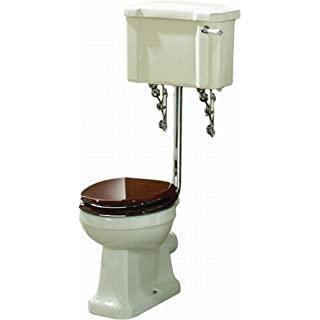 Dunbar Traditional Low Level WC Pan & Cistern Incl Seat