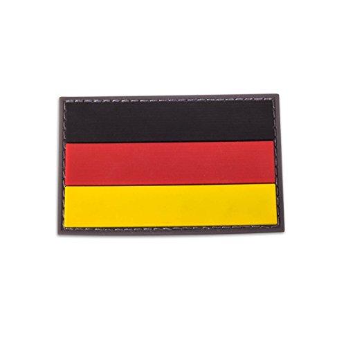 Deutschland Patch PVC Aufnäher Germany Badge Abzeichen 3D Militär mit Klett
