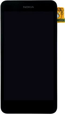 Nokia Lumia 630 Lumia 635 LCD and Touch Screen Digitizer. Complete Screen and Front Cover With Frame. Part No: 00812Q0