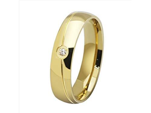 Nqceksrdfzn meraviglioso classico generale da uomo 18 carati con diamante intarsiato micro anello stati uniti 9 yard gold