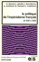 La politique de l'impérialisme fran...