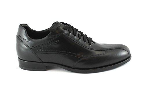 Los De Negro Elegantes Cuero Hombres Giardini Nero Cordones 05222 De Deportes Zapatos Negros Jardines wgZqpA
