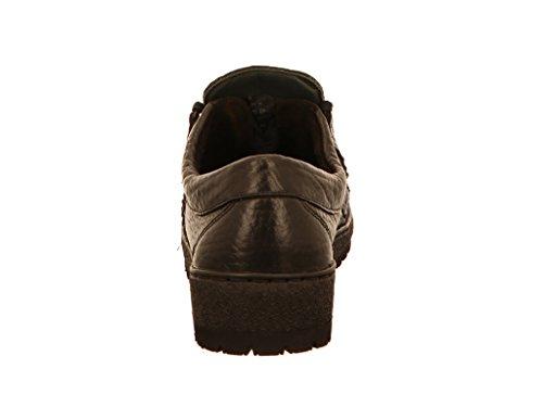 Mephisto-Chaussure Lacet-RAINBOW Marron cuir 751-Homme Noir