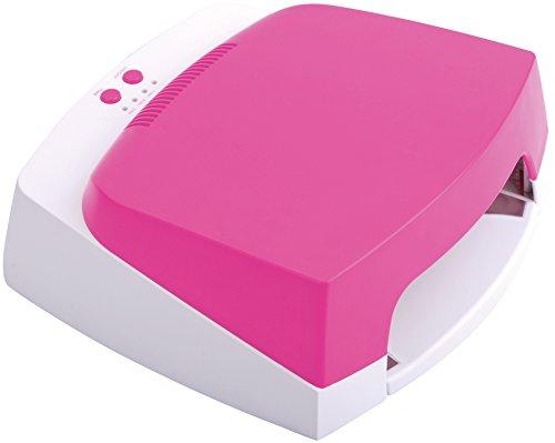 The Edge 36W Pink/ White UV Lamp Test