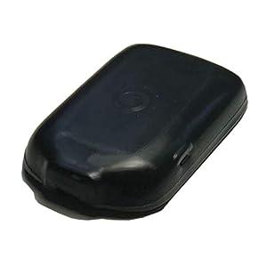 Schutzhülle & Displayschutz für Freestyle Libre I & II Blutzucker Messgerät, Anti-Rutsch Material, Schutzcover Schwarz