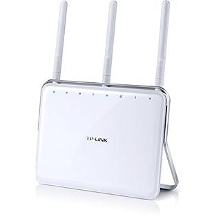 TP-Link All-in-One BOX AC750 DECT Telefonie Gigabit WLAN Modemrouter Archer VR200v (VDSL/ADSL, kompatibel mit Telekom/1+1/Vodafone,  DECT Basis und Mediaserver)