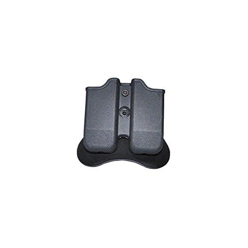 CYTAC CY-MP-G3 Polymer Double Magazine Pouch - Glock -