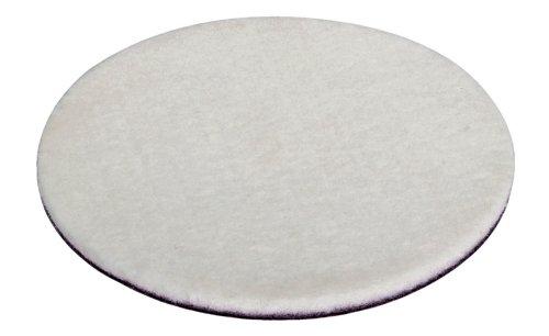 Wolfcraft 2208000 2208000-1 Disco de pulir de Fieltro Adhesivo, plata