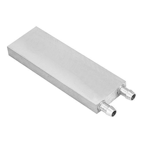 Fosa Wasser-Block, 40x 40x 12mm, 40x 80x 12mm, 40* 120* 12mm, 40* 40* 12mm, 160, 200x 12mm-Aluminium-Wasserkühler-Waschbecken, Silber, für PC, Laptop -