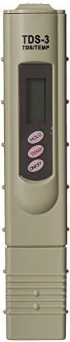 Generic Digital LCD TDS Meter Waterfilter Tester for Measuring TDS3/TEMP/PPM,Multicolor