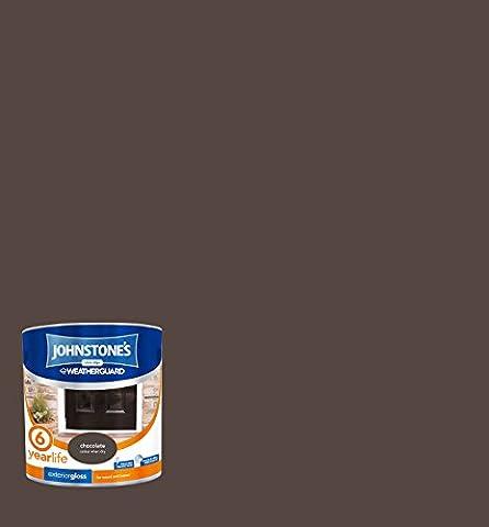 Peinture Exterieur Chocolat - Johnstone's Peinture 303942Protection Intempéries extérieur Peinture brillante–Chocolat,