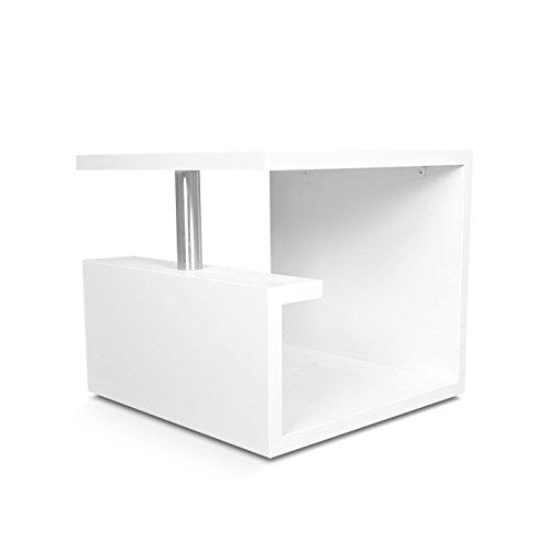 Angel's Penicuik Side Table (White)