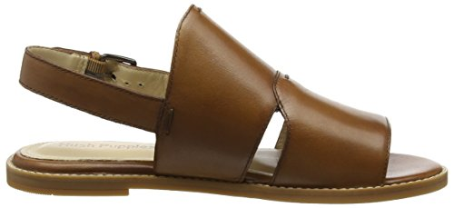 Hush Puppies Adiron Chrissie, Sandali a Punta Aperta Donna Marrone (Tan)