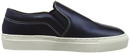 Wood Wood Ian Shoes, Baskets Basses Mixte Adulte Bleu - Blue (Dark Navy)