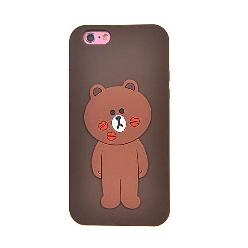 iPhone 6s Plus (5.5 inches) Coque,COOLKE Mode 3D Style Cartoon Gel Soft silicone Coque Housse étui Case Cover Pour Apple iPhone 6 Plus/ iPhone 6s Plus (5.5 inches) - 009 003