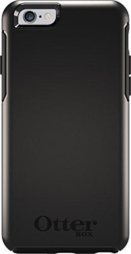 OtterBox Symmetry Clear Series Schutzhülle für iPhone 6/6S (4,7 Zoll Version), Standard-Verpackung, Standard Packaging, schwarz