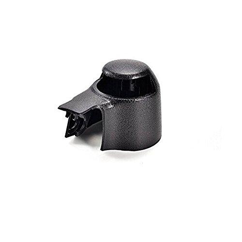 Preisvergleich Produktbild BoomBoost Schwarz Kappe für Heckscheibenwischer Abdeckkappe Passend für Scheibenwischerarm