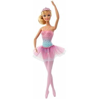 Barbie bcp12 poup e ballerine tutu rose - Barbie danseuse magique ...