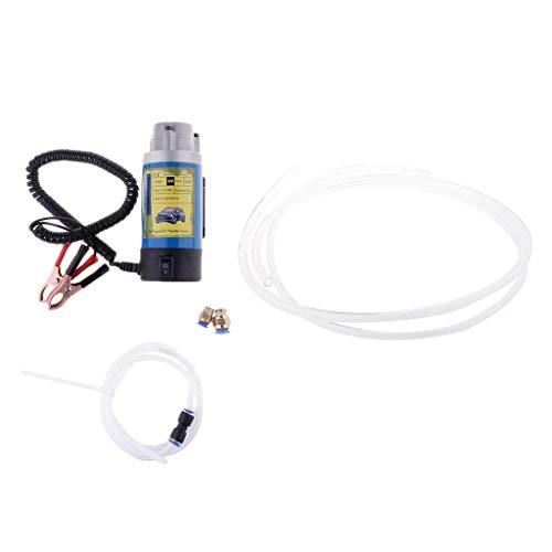 Tubayia - Pompa di aspirazione dell'olio per auto, DC 12 V