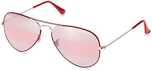 Ray-Ban Herren RB3025-9155AI-55 Sonnenbrille, Braun (Burdeos/Plata), 0