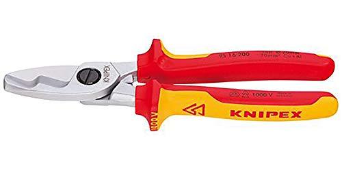 KNIPEX 95 16 200 VDE Kabelschere 200 mm 4003773026761