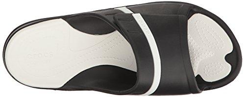 Crocs Modi Sport Slide, Tongs Mixte Adulte Black/White