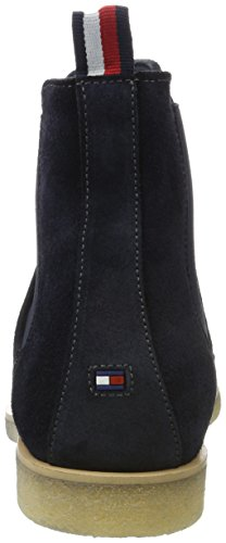 Tommy Hilfiger Herren W2285illiam 2b Chelsea Boots Blau (Midnight)
