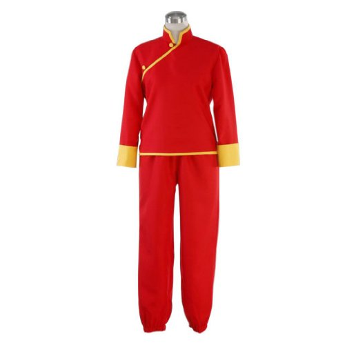 Dream2Reality japanische Anime Gintama(Silver Soul) Cosplay Kostuem - Kagura Chi-pao 5th Ver XX-Large (Kagura Cosplay Kostüm)