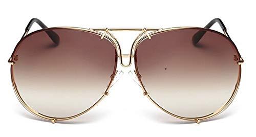 WDDYYBF Sonnenbrillen 2018 Großer Brand Design Aviation Sonnenbrillen Herrenmode Schattierungen Weiblichen Sonnenbrillen Spiegel Für Frauen Brillen Kim Kardashian Oculo