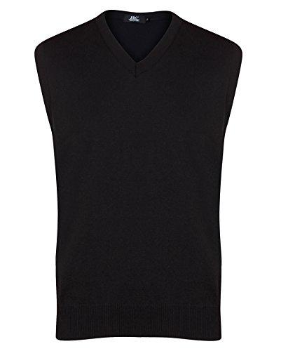 Huntadeal Mens Boys Sleeveless Jumper Stylish Plain Knitted Pullover V-Neck Knitwear Jumper Slipover Sweater Assorted Color Casual Sweater Sweatshirt Bodywarmer Golf Jumper Plus Big Size Large
