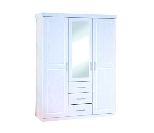 Links-20900930-Geraldo-Armadio-3-ante3-cassetti-bianco-140-x-55-x-190-cm