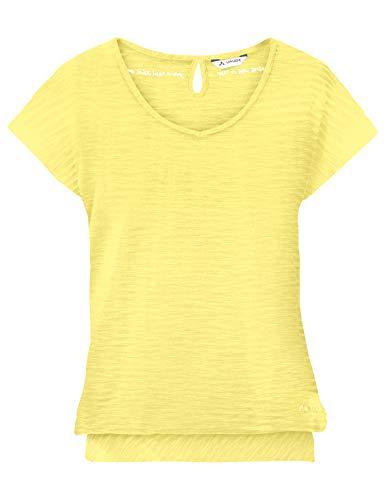 Vaude Damen Skomer II T-Shirt, Mimosa, 42 -