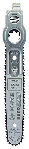 Bosch Sägeblatt Wood Speed 50 (mit NanoBlade Technologie für EasyCut 12, 50 und AdvancedCut 50)