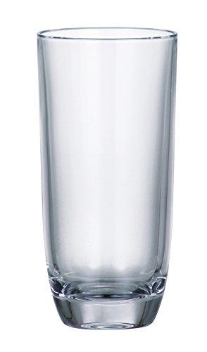 Barski Glas-Bleifrei-Hiball Kristalline-Highball-Gläser-10,5oz-Made in Europe-Set 6Stück Highball-hi-ball-set