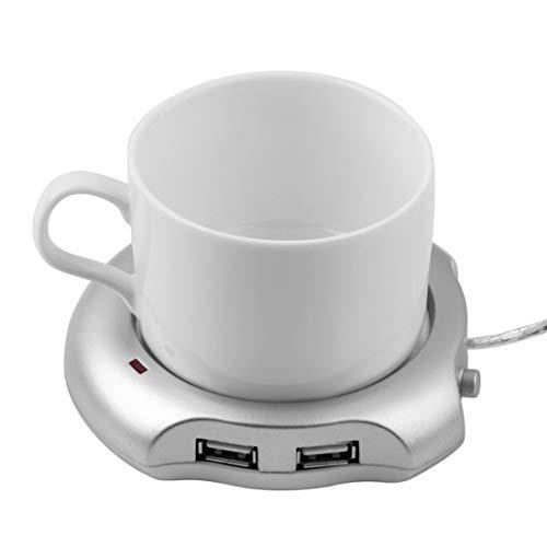 Getränkewärmer Mit Elektrischer Heizplatte Tassenwärmer Becher Wärmer Milch Kaffeewärmer Wärmer Geschirrwärmer Coaster Usb Heizung Aluminiumlegierung Wärmer Pad Heizung