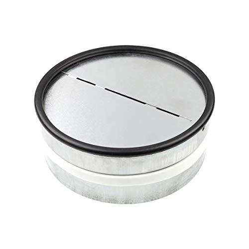 Neverest RKI 150 mm Inline Professionell Rückstauklappe Einschub Lüftungsrohr
