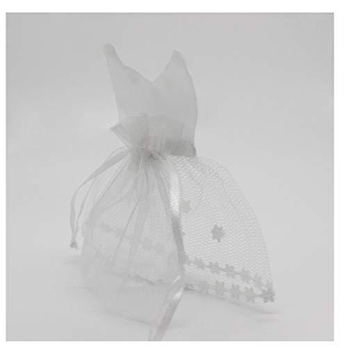 Gift Organza Drawstring Candy Bag Tuxedo & Dress Bride Groom Wedding Favors Party Bag C (Hochzeit Tuxedo Die Für)