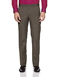 Excalibur by Unlimited Men's Relaxed Fit Formal Trousers