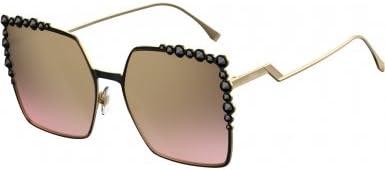 Fendi Ff 0259/S 53, Gafas de Sol para Mujer, Black, 60