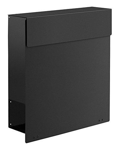 frabox Design Briefkasten Namur Stahl lackiert, DB 703 grau