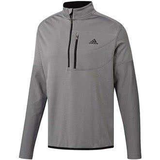 Adidas 1/4 Zip (adidas Herren Climawarm Gridded 1/4 Zip Trainingsjacke, Grau (Gris CY9366), X-Large)