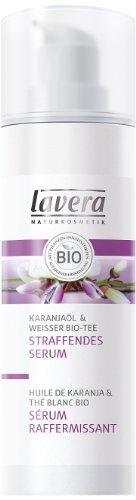 Lavera Firming Serum Karanjaoel y té orgánico negro, 1er Pack (1 x 30 ml)