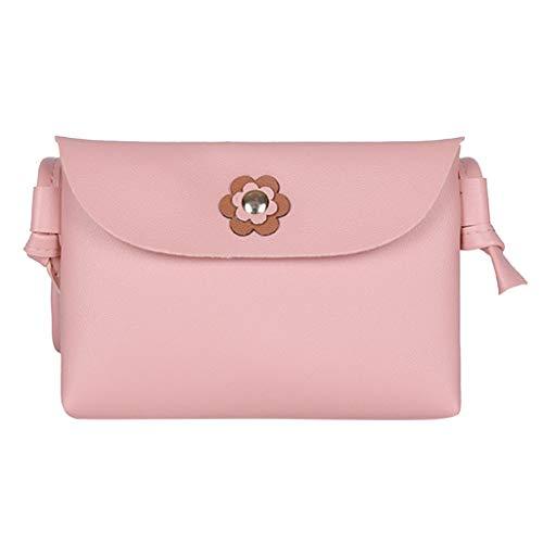 Dkings Umhängetaschen für Damen, Geldbörsen und Handtaschen Flap Saddle Bag with Buckle Flower -