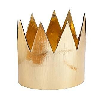 unisex-king-queen-gold-crown-metallic-shiney