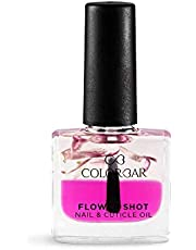 Colorbar Flower Shot Nail and Cuticle Oil, Pink, 9 ml