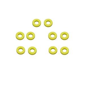 5 Paar Silikon Brillenhülsenhalter – Brillengestellgriffe Anti-Rutsch-Silikon-Halter Ohrpolster für Sonnenbrillen Gelb