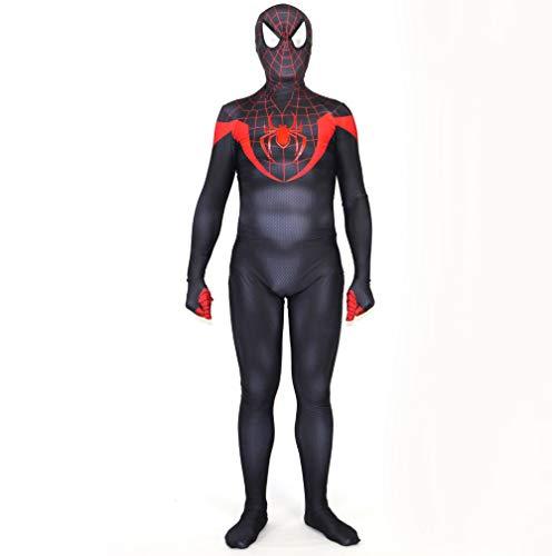 JUFENG Erwachsene Kinder Spider-Man 3 Raimi Spiderman Cosplay Kostüm Zentai Superheld Bodysuit Anzug Overalls,A-Child/S