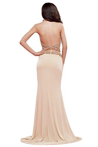 missd ressy Donna Pietre Chiffon abito da sera lungo a della linea Rueckenfrei su Large feste abito ball vestito abito Prom abito ABI Ball Style C