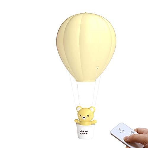 Littlefairy Kreative niedlichen Heißluftballon Nacht Lampe Kinder Geschenk Lampe Fernbedienung Hand Lampe Nachttischlampe schlafen Atmosphäre Lampe